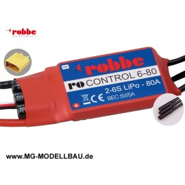 Robbe RO-CONTROL 6-80 2-6S -80(100A)