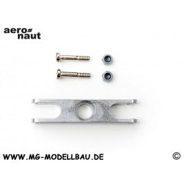 Alu-2-Blatt-Mittel-Stück 72mm / 0°