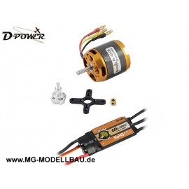 Brushless SET AL42-06 & 60A Comet Regler
