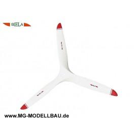 Luftschraube 3-Blatt 18x10 CFK Biela