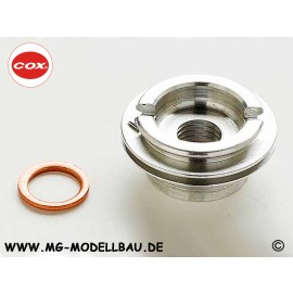 Cox .049 Glow Plug Adapter