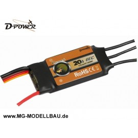 D-Power Brushless Regler 'Comet' 20A BEC