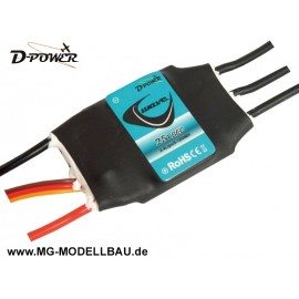 D-Power Wave 25A BEC Brushless Regler
