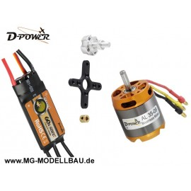 Brushless SET AL35-09 & 60A Comet Regler