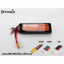 D-Power SD-3700 3S Lipo (11,1) 45C
