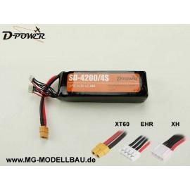 D-Power SD-4200 4S Lipo (14,8) 45C