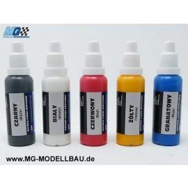Farb Set Acryl WW2 Grundfarben 30Ml 5St.