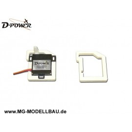 Servohalter für D-Power Servos AS/DS-840
