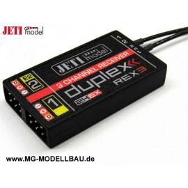 JETI Empfänger Duplex 2.4EX REX3 20cm An