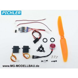 Brushless Antriebsset + Servos Micro