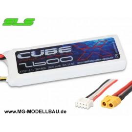 SLS X-CUBE 2600mAh 3S1P 11,1V 30C/60C