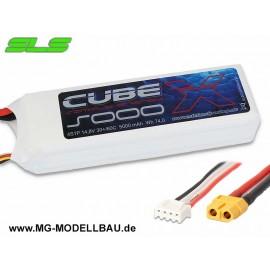 SLS X-CUBE 5000mAh 4S1P 14,8V 30C/60C