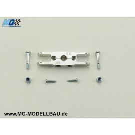 KLEMM - Mittelteil 45/ 8 - Welle 6mm