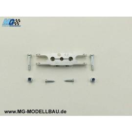 KLEMM - Mittelteil 50/ 8 - Welle 4mm
