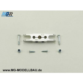 KLEMM - Mittelteil 50/ 8 - Welle 6mm